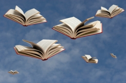 Image result for flying book